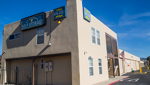Ordinaire Welcome To St. Michaelu0027s Self Storage. We Are Located On 1935 Aspen Dr. Santa  Fe, NM, 87505, Located Opposite The De Vargas Jr High School And The Santa  Fe ...